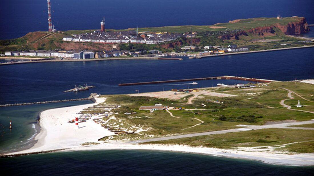 Strand an der Nordsee: Helgoland