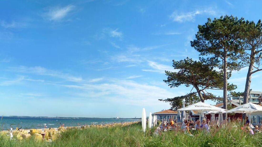 Strand an der Ostsee: Scharbeutz