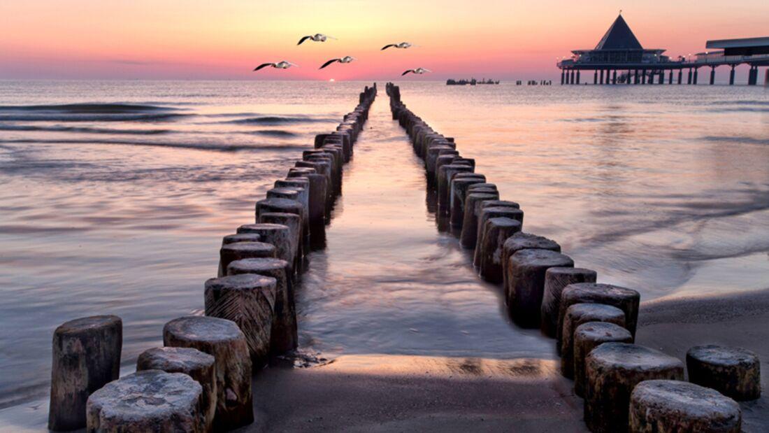 Strand an der Ostsee: Usedom
