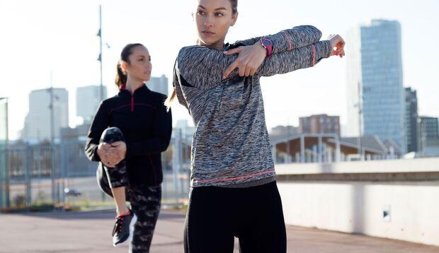 Stretching beugt Muskelkrämpfen beim Sport vor