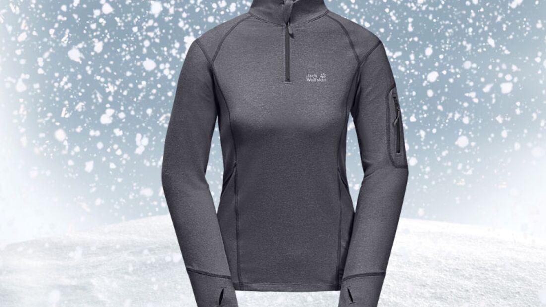 Stylishe Skibekleidung bei schlechtem Wetter
