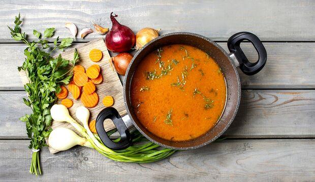 Suppe ist gesund, daher greifen Sie ruhig öfter mal zu