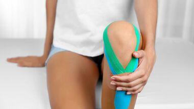 Tapes bei Sportverletzungen