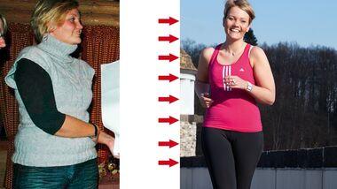 Teresa nahm 18 Kilogramm ab