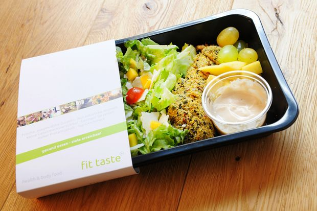 Test-Essen 4: luxfit Chicken-Salat