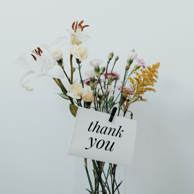 Thank You Blumen