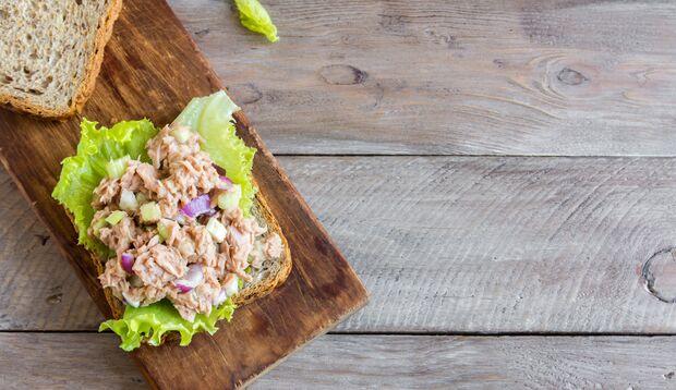 Thunfisch aus der Dose ist auch ein leckerer Brotaufstrich