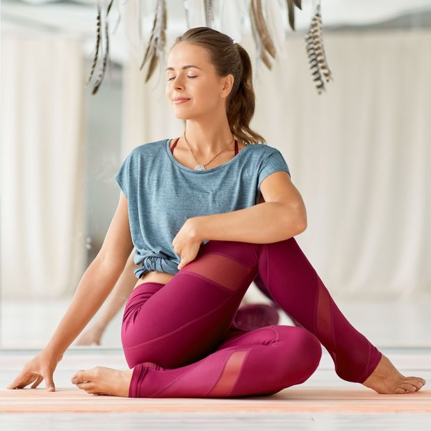 Tief durchatmen beim Jivamutki Yoga