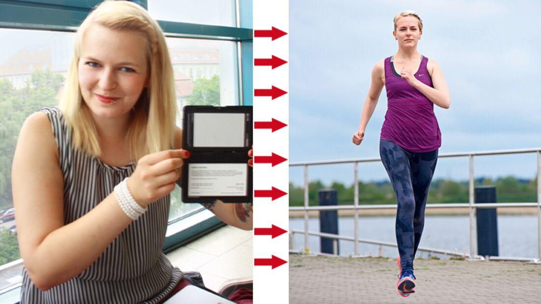 Ulrika hat abgenommen: Vorher wog sie 71 Kilo und nachher 56 Kilo
