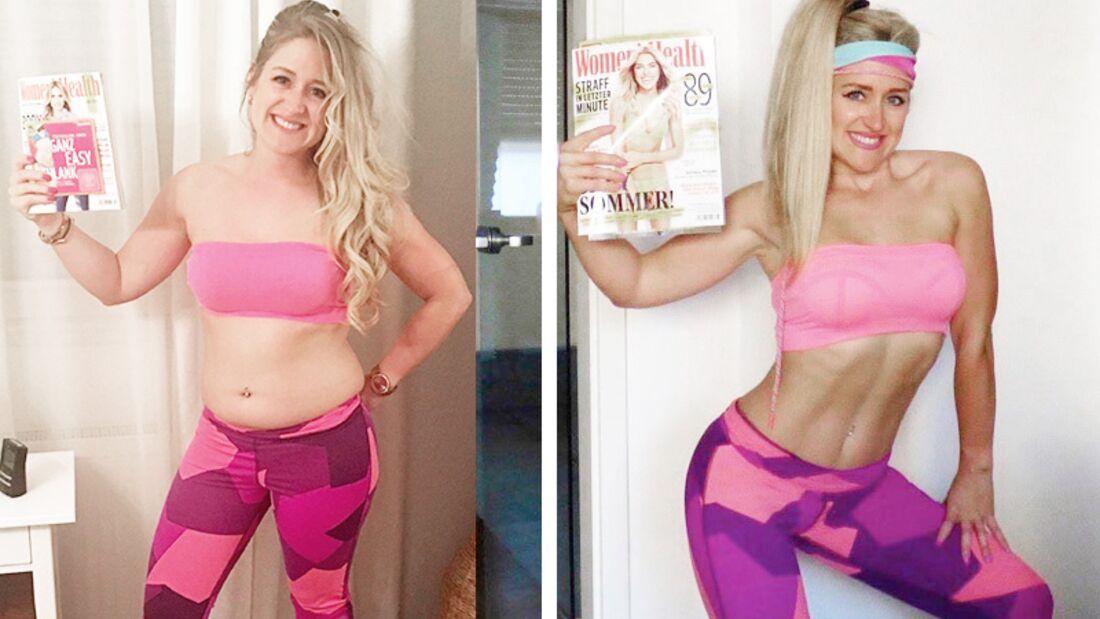 Vanessa Wenk gewinnt Projekt Sexy Bauch 2016