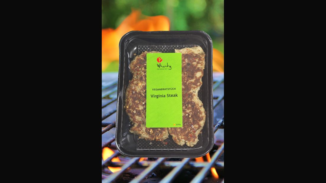 "Veganbratstück ""Virginia Steak"" von Wheaty"