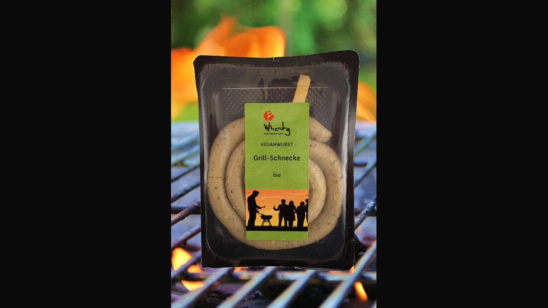 """Veganwurst """"Grillschnecke"""" von Wheaty"""