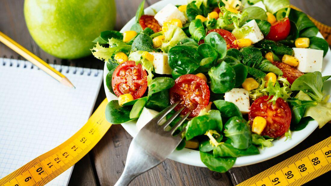 Vegetarischer Ernährungsplan für einen straffen Hintern