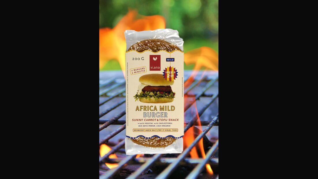 Veggie 2 Go Africa Mild Burger von Viana