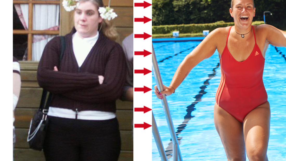 Verena nahm 38 Kilo ab