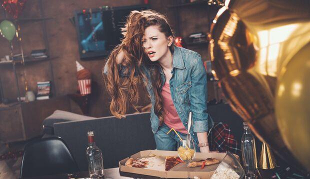 Verzichte auf die Kater-Pizza