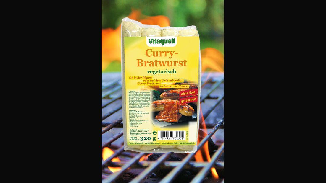 Vitaquell Currybratwurst