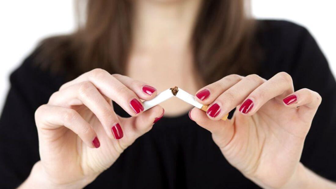 Vor dem Frühstück keine Zigarette