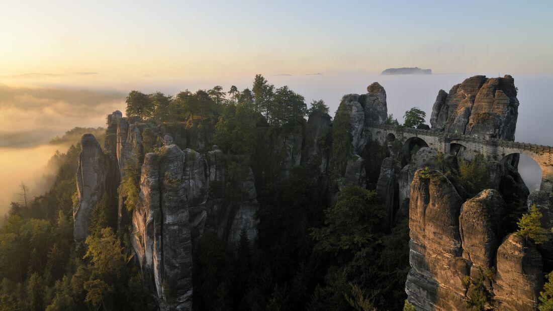 Wandertouren in Deutschland: Malerweg