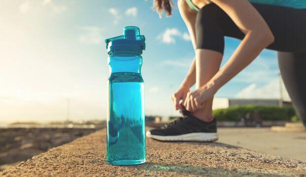 Wasser reicht für normale Ausdauersportler völlig aus
