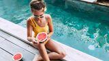 Wassermelone erfrischt und sättigt gleichzeitig