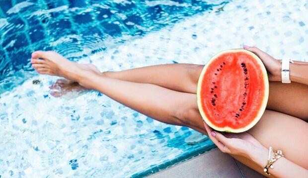 Wassermelonen sind eine gesunde Erfrischung im Sommer