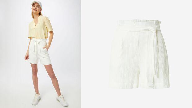 Weiße Shorts von Ichi