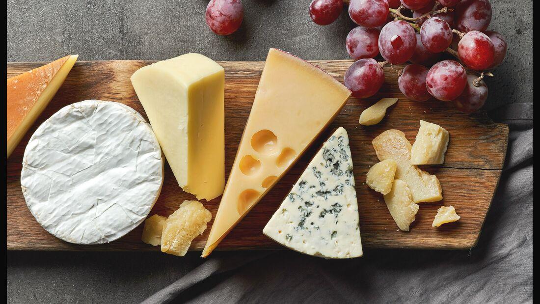 Welcher Käse enthält wohl am wenigsten Fett?
