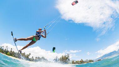 Wir klären die spannensten Fragen rund ums Thema Kitesurfen