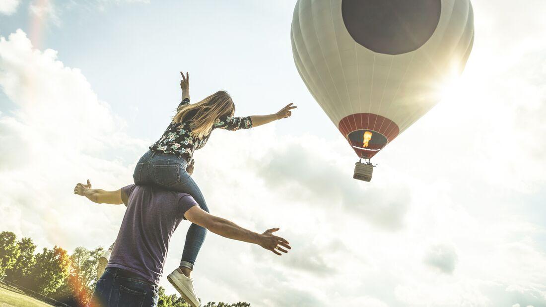 Wochenendtipp: Eine Fahrt im Heißluftballon