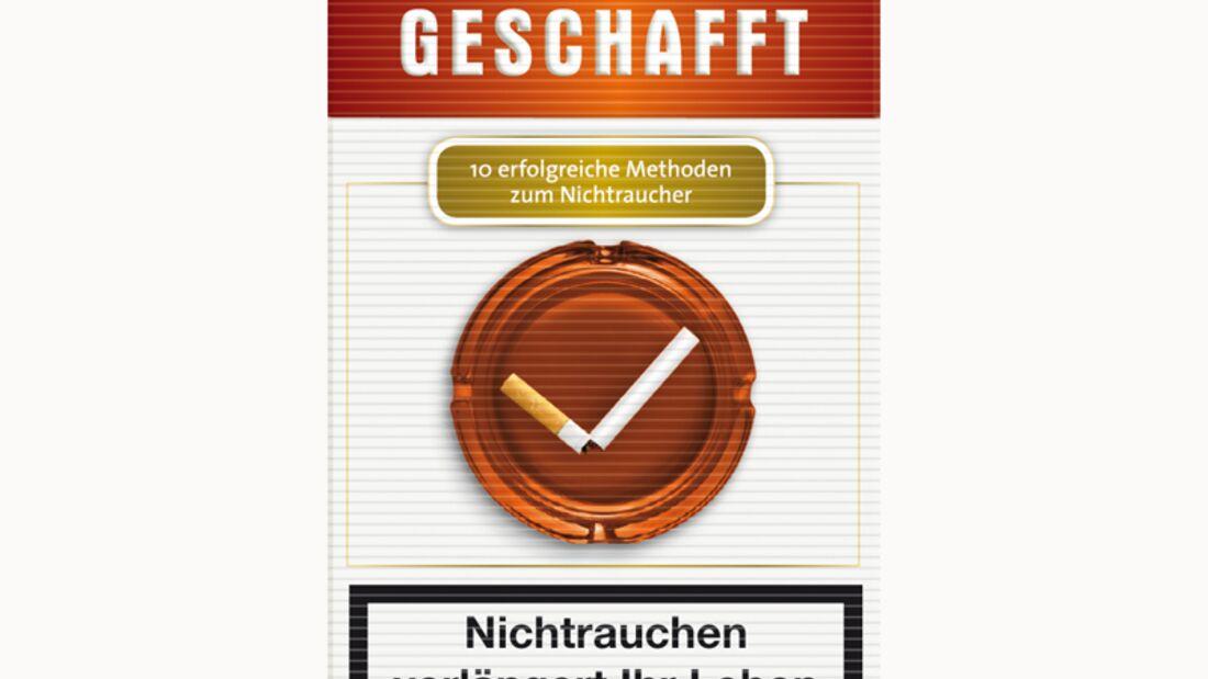 Wolfgang M. Kracht: Geschafft: 10 erfolgreiche Methoden zum Nichtraucher