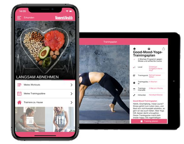 Women's Health Personal Trainer App