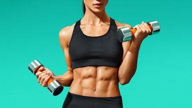 Workout Sexy Bauchmuskeln