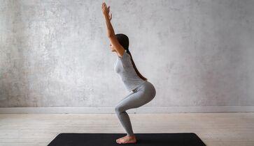 Ich möchte natürlich Yoga abnehmen