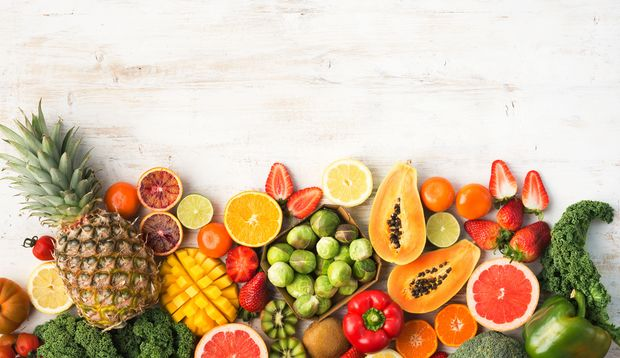 Zink ist in vielen Früchten und in Gemüsesorten enthalten