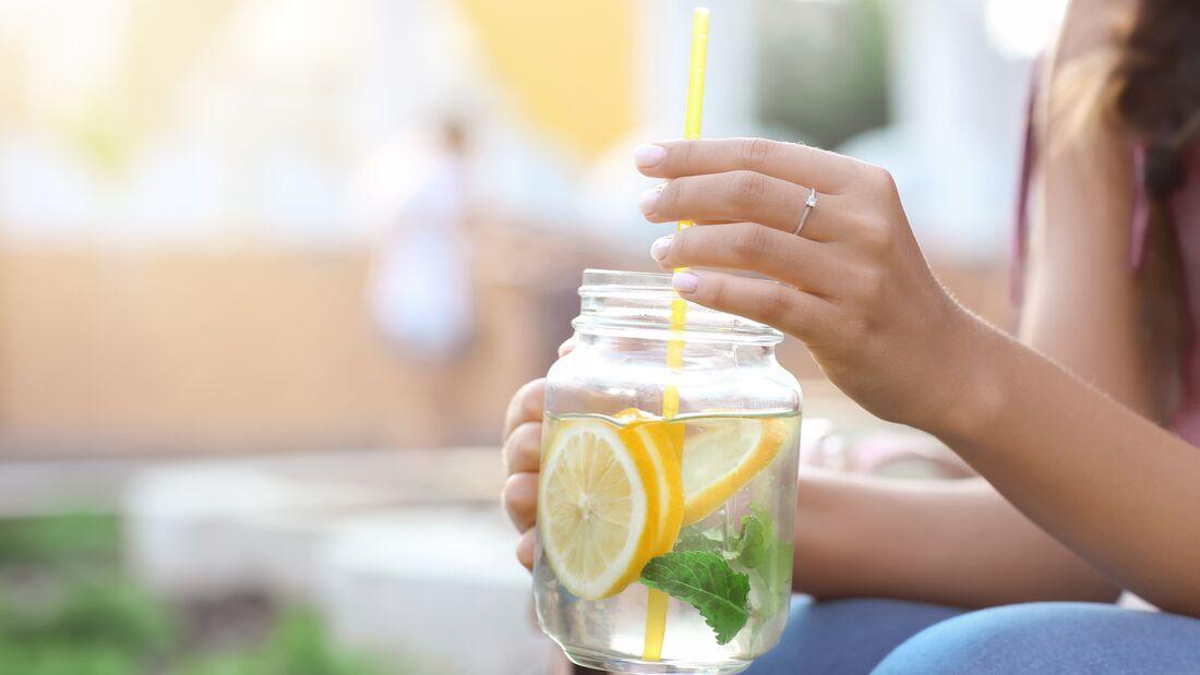 Zitronenwasser ist sehr gesund