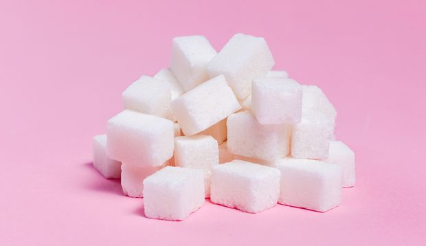Zucker fördert Pickel