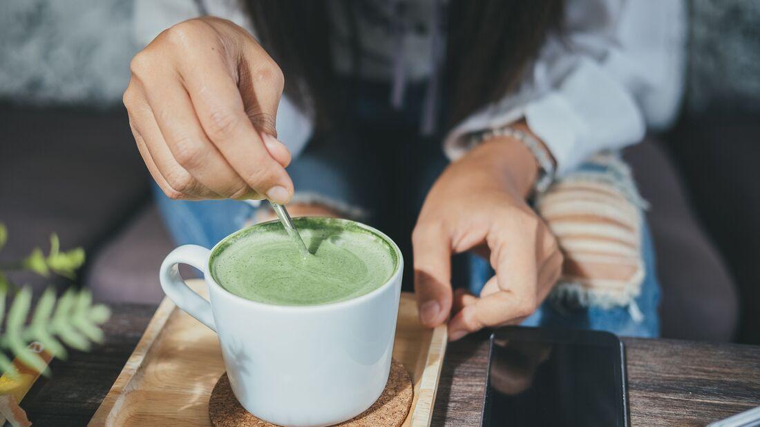 Grüner Tee verlieren Gewicht Kilo Sport