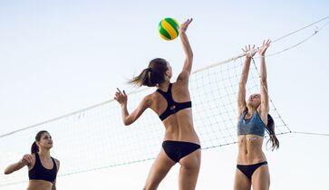 sexy frauen volleyball