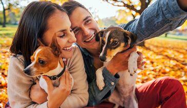 Machen hund liebe frau und Aus Liebe