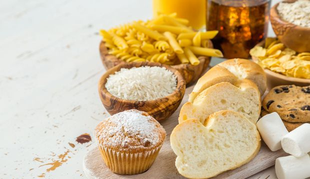 schnelle Kohlenhydrate sind tabu